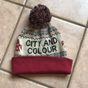 City and Colour winter hat